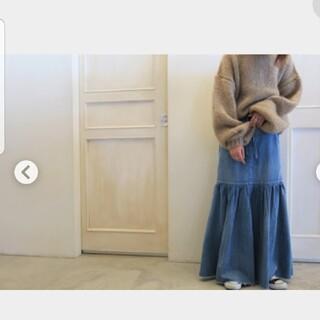 ファビアンルー(Fabiane Roux)の12/24までのお値下げ♥nowosデニムスカート(ロングスカート)