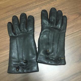 コーチ(COACH)のコーチ ラムレザーグローブ 羊革手袋  COACH (手袋)