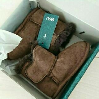 エミュー(EMU)の新品 正規品 エミュー ムートンブーツ ファーストシューズ セカンドシューズ(ブーツ)