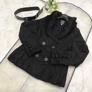 カルバンクライン(Calvin Klein)のCalvin Klein☆中綿入コート ブラック サイズ L(ダウンジャケット)