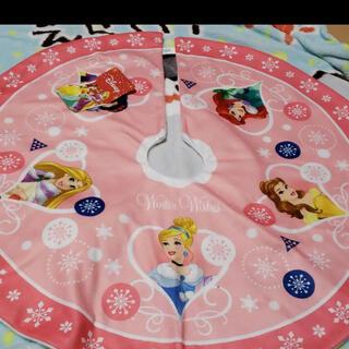 ディズニー(Disney)のクリスマス ツリー スカート プリンセス(その他)