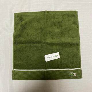 ラコステ(LACOSTE)のラコステ タオルハンカチ 新品(ハンカチ/ポケットチーフ)