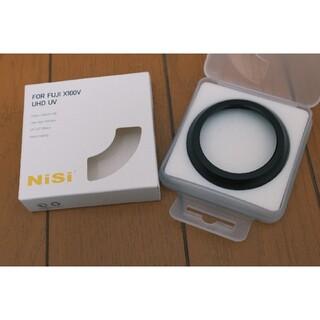 フジフイルム(富士フイルム)のNisi X100V用フィルター(ブラック)(フィルター)