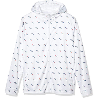 FILA - FILA フィラ ラッシュガード UVパーカジャケット ホワイト メンズM 新品