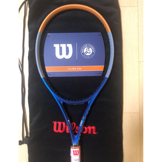 ウィルソン(wilson)のウイルソン クラッシュ テニス ラケット 限定 ローランギャロス グリップ 2(ラケット)
