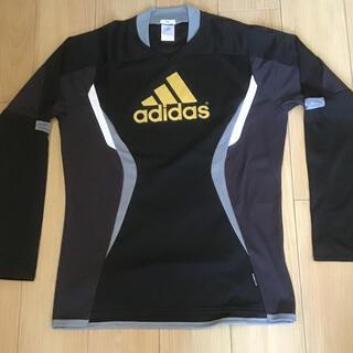 アディダス(adidas)のadidas スポーツ用 長袖シャツ XO (XXL)サイズ(Tシャツ/カットソー(七分/長袖))