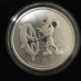 ディズニー(Disney)の本物 銀貨 1オンス ディズニー 2017 オーストラリア(貨幣)