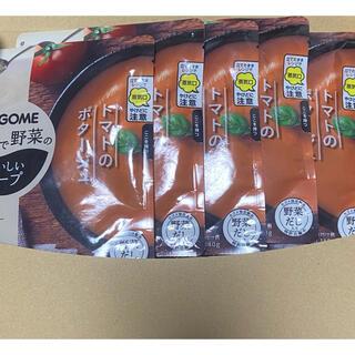 カゴメ(KAGOME)のカゴメ トマトのポタージュ 140g×5個セット(レトルト食品)