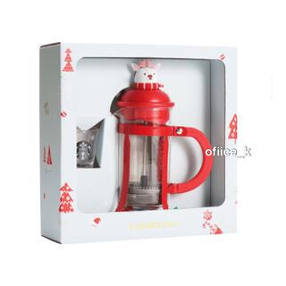 スターバックスコーヒー(Starbucks Coffee)のスターバックス  Starbucks 上海 限定 フレンチプレス 新品(コーヒーメーカー)