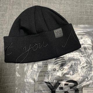 ワイスリー(Y-3)のy3 adidas yougiyamaoto ビーニー(ニット帽/ビーニー)