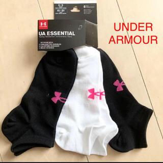 アンダーアーマー(UNDER ARMOUR)の新品 アンダーアーマー レディース ソックス 3足(ソックス)