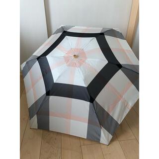 バーバリーブルーレーベル(BURBERRY BLUE LABEL)の新品、未使用 ブルーレーベルクレストブリッジ 折り畳み傘(傘)