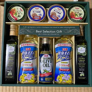 ニッシンショクヒン(日清食品)の日清オイリオ オリーブオイルバラエティギフト(調味料)