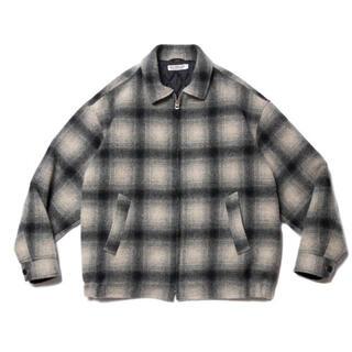 クーティー(COOTIE)のcootie Napping Ombre Check Sports Jacket(ブルゾン)