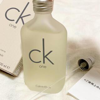 シーケーカルバンクライン(ck Calvin Klein)のシーケーワン   香水   100ml(ユニセックス)