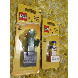 レゴ(Lego)のLEGO NY店限定 ミニフィグ・マグネット 2点セット(その他)