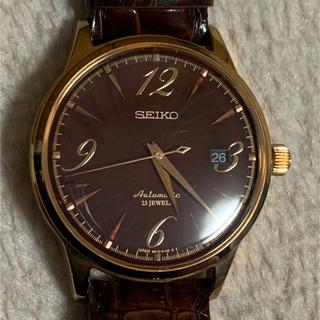 セイコー(SEIKO)の傷有SEIKO MECHANICAL × 石垣 忍 SARB068 300本限定(腕時計(アナログ))