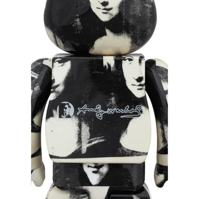 MEDICOM TOY(メディコムトイ)のBE@RBRICK ANDY WARHOL Mona Lisa 1000% エンタメ/ホビーのフィギュア(その他)の商品写真