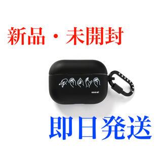 サカイ(sacai)のsacai AirPods Pro Case PEACE BLACK×White(ヘッドフォン/イヤフォン)