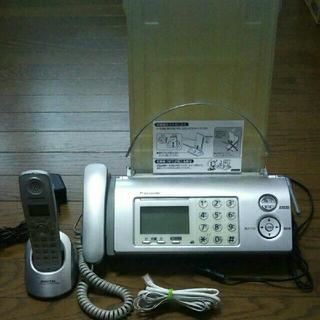 パナソニック(Panasonic)の専用です。値下げ パナソニック FAX 電話機  KX-PW605-S(電話台/ファックス台)