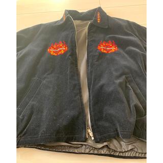 ハーレーダビッドソン(Harley Davidson)のヴィンテージ レア物 ハーレーダビットソンスエードスカジャン(スカジャン)