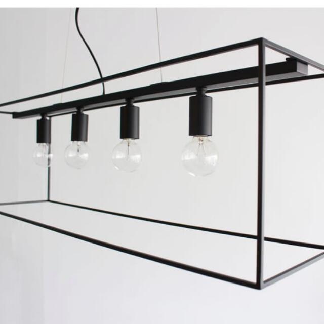 ACTUS(アクタス)の照明 ペンダントライト ブラックアイアン インテリア/住まい/日用品のライト/照明/LED(天井照明)の商品写真