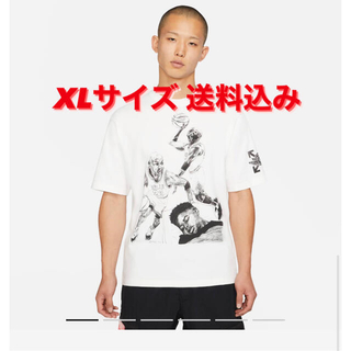 オフホワイト(OFF-WHITE)のnike off-white air  Jordan Tシャツ オフホワイト(Tシャツ/カットソー(半袖/袖なし))