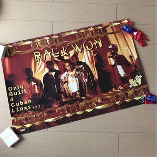 ヴィンテージ アンティーク RAEKWON 1STアルバム ポスター(印刷物)