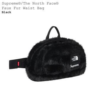 シュプリーム(Supreme)のThe North Face Faux Fur Waist Bag Black(ボディバッグ/ウエストポーチ)