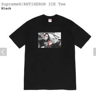 シュプリーム(Supreme)のSupreme ANTI HERO ICE Tee Black Large(Tシャツ/カットソー(半袖/袖なし))