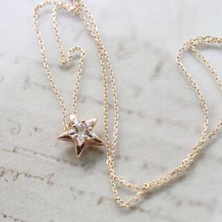 スタージュエリー(STAR JEWELRY)のスタージュエリー k10 星 ネックレス(ネックレス)