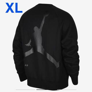 ナイキ(NIKE)のXL Nike Jordan fragment フリース クルー sweat(スウェット)