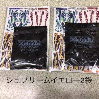 ゾイドZキャップ シュプリームイエロー2袋 シール2袋 未使用(その他)