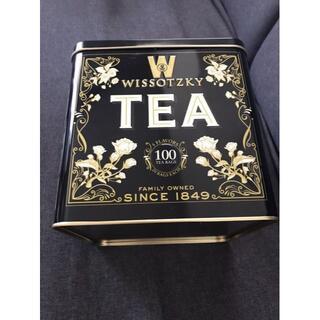 WISSOTZKY ヴィッソツキーティーギフトセット 黒缶 新品未開封(茶)