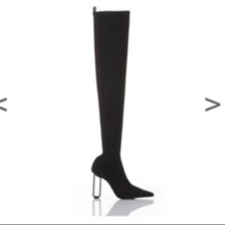 イエローブーツ(Yellow boots)のyello TOKYO BLACK LONG  1/15まで大幅値下げ(ブーツ)