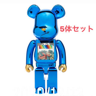メディコムトイ(MEDICOM TOY)のBE@RBRICK J.S.B. 3RD Ver. 1000% 5体セット(その他)
