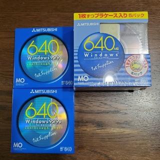 ミツビシ(三菱)のMOディスク(640MB) 7枚(その他)