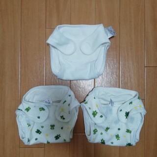 キムラタン(キムラタン)のおむつカバー 50サイズ 3枚セット キムラタンほか(布おむつ)