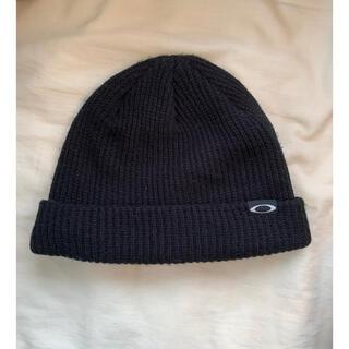 オークリー(Oakley)のoakley オークリー ニット帽 ビーニー(ニット帽/ビーニー)