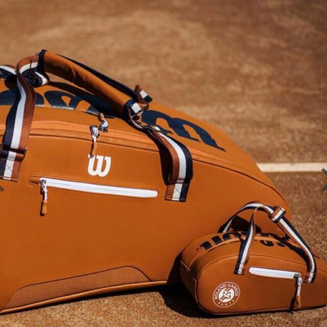 wilson(ウィルソン)のWilson ミニローランギャロス ✨ミニチュアバッグ スポーツ/アウトドアのテニス(ウェア)の商品写真