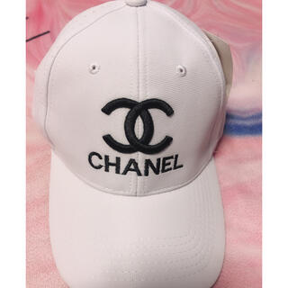 CHANEL - CHANEL キャップ ホワイト