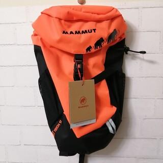マムート(Mammut)の【新品】MAMMUT First Trion 12L 4〜6歳 オレンジ(登山用品)