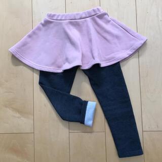 スカッツ スカート  裏起毛 110センチ(スカート)