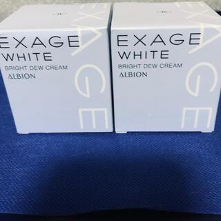 アルビオン(ALBION)のエクサージュホワイト ブライトデュウ クリーム 30gx2(フェイスクリーム)