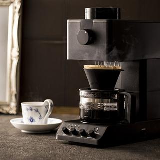 ツインバード(TWINBIRD)のツインバード 全自動コーヒーメーカー CM-D457B【新品 未使用 未開封】(コーヒーメーカー)
