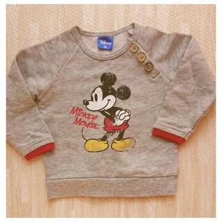 Disney - 【美品】ミッキー トレーナー 80