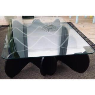 【E&Y】MATRIX TABLE マトリックス テーブル (ブラック)(ローテーブル)