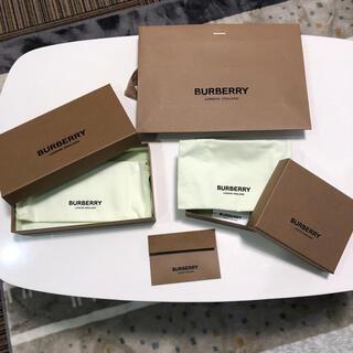 バーバリー(BURBERRY)のBURBERRY 空箱 包装紙 袋(ラッピング/包装)