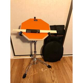 ドラム 練習パッド 12インチ 専用ケース 新品スティック セット 太鼓の達人(スネア)