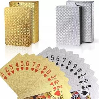 新品ゴールドトランプカード(トランプ/UNO)